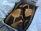 2003 DS NIKE DUNK HIGH PRO SB MAPLE HAY BAROQUE BROWN 305050-222 US 9.5