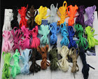 Beautiful Flat Athletic 27 36 45 54 Inch Sneaker SHOELACES Many Colors!