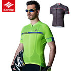 Santic Men MTB Short Sleeve Cycling Short Jersey Sleeve Cuff Road Bike 2 Colour