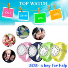 Anti-Lost Children Kids Smart Watch GPS Tracker Safe SOS Call For Android IOS
