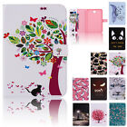 Smart Pattern Leather Flip Cover Case For Samsung Galaxy Tab E 8 Inch Tablet