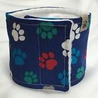 ONE Male Belly Band Dog Diaper,  Wrap,  Pick your Size, Best on Ebay,  blue paw
