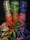 20 METERS TWO - COLOR RAFFIA RIBBON. MANY COLORS
