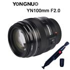 Yongnuo YN 35mm 50mm 85mm 100mm EF AF / MF Prime Fixed Lens for Canon EOS US