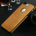 Ultra-Thin Original Genuine Silicone Leather Case Cover For iPhone 5 6 6s 7 Plus