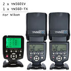 YONGNUO YN-560 IV Wireless Speedlite Flash + YN560-TX Controller For Nikon US