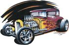 Classic '32 Ford Hot Rod Deuce Coupe T-shirt Small to 5XL