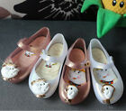 Girl Boy Christmas Shoes Cartoon Magic Fastening For Mrs.Potts Cos Kids Sandals