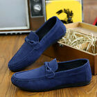 New Leather Slip On Men Driving Moccasin Loafer Soft Casual Shoes Free Shipping