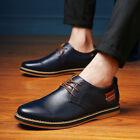 2017 Men Casual Genuine Leather Shoes Lace-up Sneakers Oxford British Style
