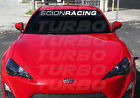 Scion Racing Windshield Vinyl Decals Stickers  xB Tc Fr-s TRD on eBay