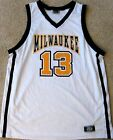 WISCONSIN-MILWAUKEE PANTHERS MEN'S BASKETBALL JERSEY NCAA #13 MEN'S L OR 2XL
