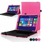 """Premium Case for RCA Cambio PU Leather Cover Case 10.1"""" 2in1 with stand"""
