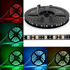5M 16.4Ft 5050 SMD 300 LEDs LED Strip Fairy Light Black PCB IP65/Non Waterproof