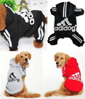 Pet Dog Puppy or Big Large Adidog Clothes Coat Jacket Hoodie Winter Warm Sweater