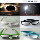 1/3/5/10pcs Lots Plastic Solar Eclipse Glasses ISO and CE Certified Sun Glasses