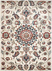 MODERN SOUTHERN CREAM-FLORAL AREA RUG;APROX SIZE OPTIONS 2'X3' 2'X7' 4'X5' 5'X7'