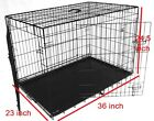 Dog Cage Puppy Crate XS Small Medium Large XL  Pet Carrier Training Cages Crates