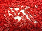 LEGO 3024 - RED Square 1x1 Pin Plate - 50 Or 100 Pieces