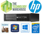 HP 8300 ELITE SFF PC - i7-3770 3.4GHZ, 8GB RAM, 1TB HDD, WINDOWS 7 or 10 PRO <br/> QUAD CORE CPU, DVDRW, USB 3.0, UK VAT SELLER, FAST SHIP