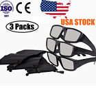 3Pcs Safe Plastic Solar Eclipse Glasses With Carry Case Solar Viewing CE/ISO USA