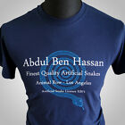 Blade Runner Retro Movie T Shirt Blue Abdul Ben Hassan Nexus 6 2049 Replicant