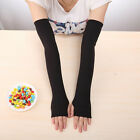 1 Pair Stylish Sun UV Block Arm Sleeves Cool Warmer Cover for Cycling Fishing