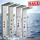 Wall Mount Shower Panel Column Rainfall&Waterfall Body Jets Hand Unit Tower