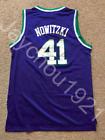 Dirk Nowitzki Dallas Mavericks Retro Swingman Sewn On Jersey NWT