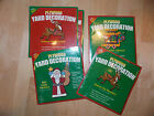 Choice of Yard Art Wood Patterns  Do It Youself Reindeer Candy Cane Caboose 15