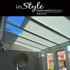 Perfect Fit Lean To Conservatory Pleated Roof Blinds