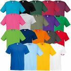 5 Pack Mens Fruit of the Loom Original Tee's 100% Cotton Blank Tee T Shirt Plain