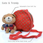 Safety Harness Leash Strap Kids Toddler Walking Cosplay Backpack Reins cute Bag