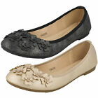 WHOLESALE Ladies Casual Flat Ballerina Shoes / Sizes 3-8 / 18 Pairs / F80290