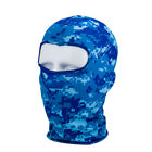 Cycling Outdoor lycra Neck Protecting Ultra-thin Full Face Mask Ski Balaclava #w