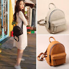 Women's Small Mini Real Leather Backpack Rucksack Daypack Purse Cute bag Travel