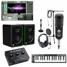 Home Recording Pro Tools Bundle Studio Package UM2 Samson w/ Software