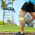 Compression Knee Support Sleeve Provides Support & Stabilisation For Knee Sprain