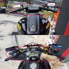"""1.5"""" Inch Rise Clip-On Adapters Plate for Ducati 696 796 1100 With 5 Color Bars"""