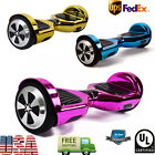 """6.5"""" Chrome Electric Self Balancing Scooter Bluetooth Hoverboard UL2722 Board"""