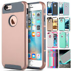 Shockproof  Hybrid Rug Rubber Hard Cover Case Shell for Apple iPhone 6s 6 Plus