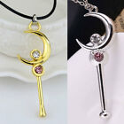 Necklace Sailor Moon Power-Stick Pendant Chain Ornaments Jewellry Gift