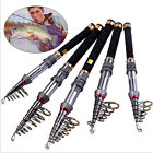Portable Pocket Travel Fishing Rods Spinning Telescopic Fishing Pole - Light