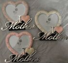 I Love Mother Heart Photo Frame Mother's Day Gift
