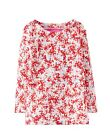 *BNWT Joules Baby Girls Harbour Cream Ditsy Floral Pink Long Sleeved Top Pretty