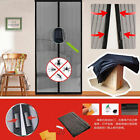 Lot Hands Free Magic Mesh Screen Net Door Magnets Anti Insect Mosquito Curtain
