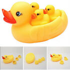 Baby Kid Children Yellow Four Duck Net Playing In The Water Bath Toys