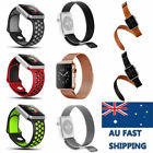 For Apple Watch iWatch 2/1 38/42mm Replacement Strap Band Clasp iWatch Band AU