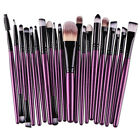 Set 1/20/32  pennelli trucco make up brush cosmetic fondotinta occhi blush HA8
