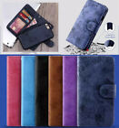 Luxury For Samsung Removable Detachable Flip PU Leather Wallet Case phones